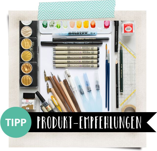 So Erstellst Du Easy Peasy Watercolor Blätter Mit Brush