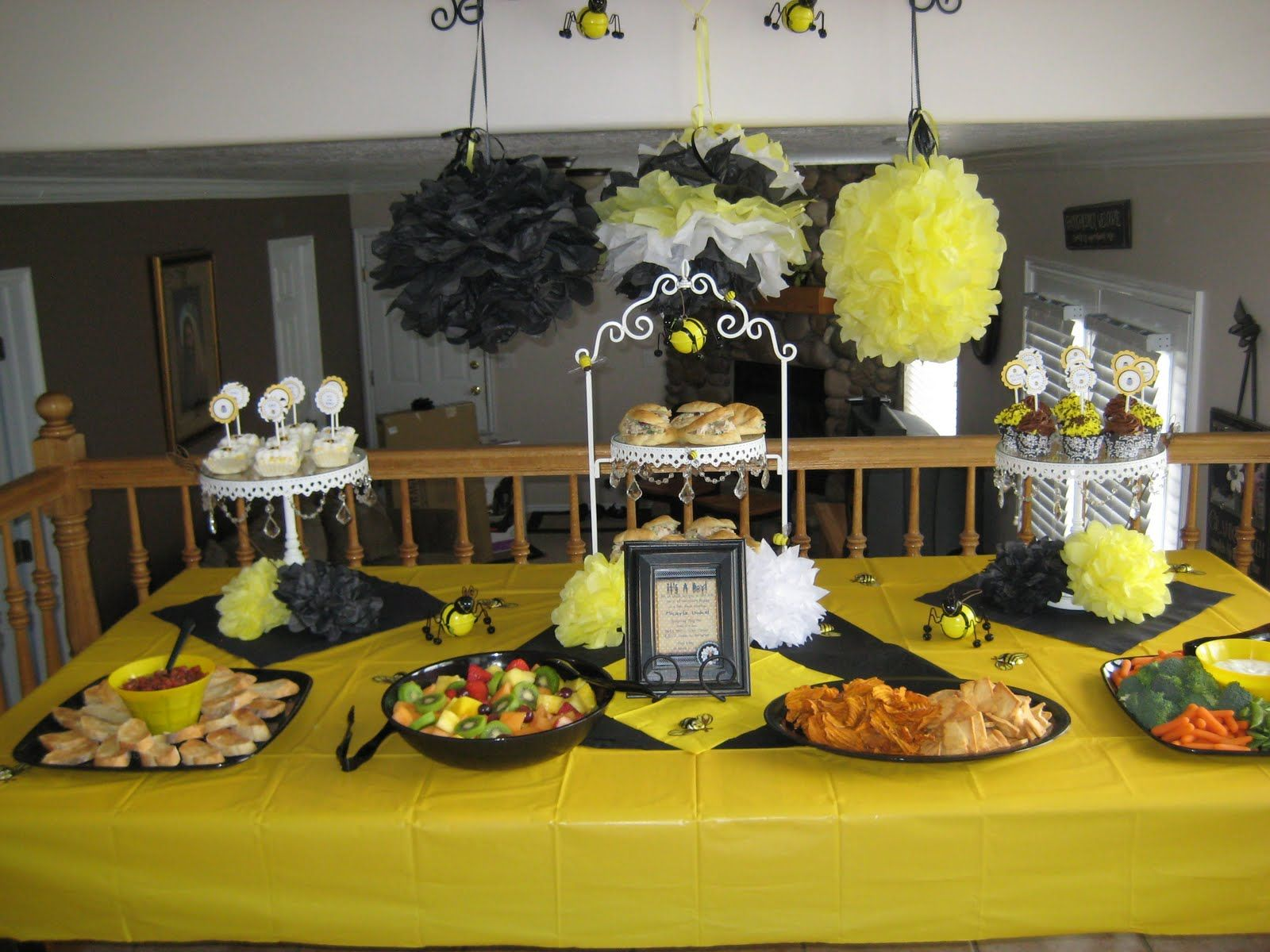 Bumble Bee Baby Shower Decorations Bumblebee Baby Shower Ideas