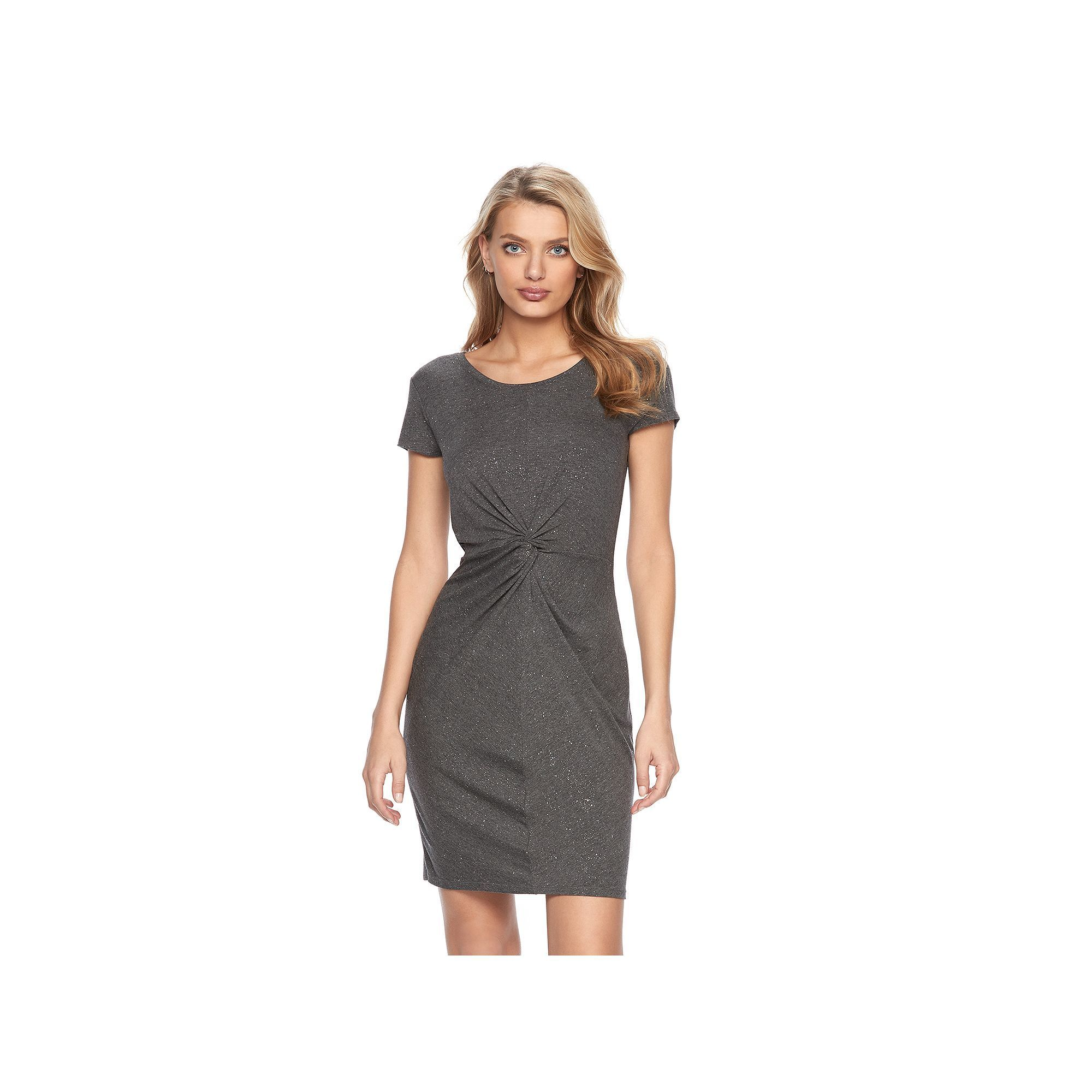 23d73e96aea4 Women s Juicy Couture Glitter Twist T-Shirt Dress