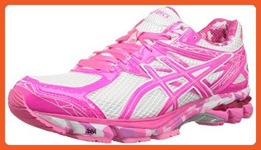 83690845c59 ASICS Women's GT-1000 3 PR Running Shoe,White/Hot Pink/Pink Ribbon ...