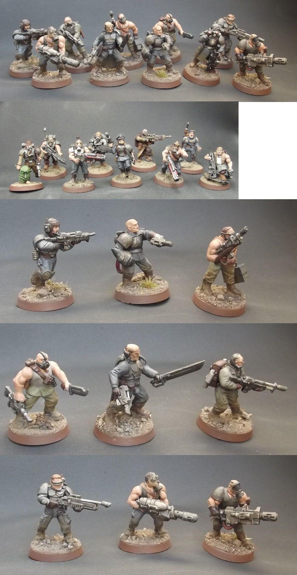 Coolminiornot Savlar Chem Dogs Infantry Squad Warhammer Imperial Guard Warhammer 40k Miniatures Cyberpunk Rpg