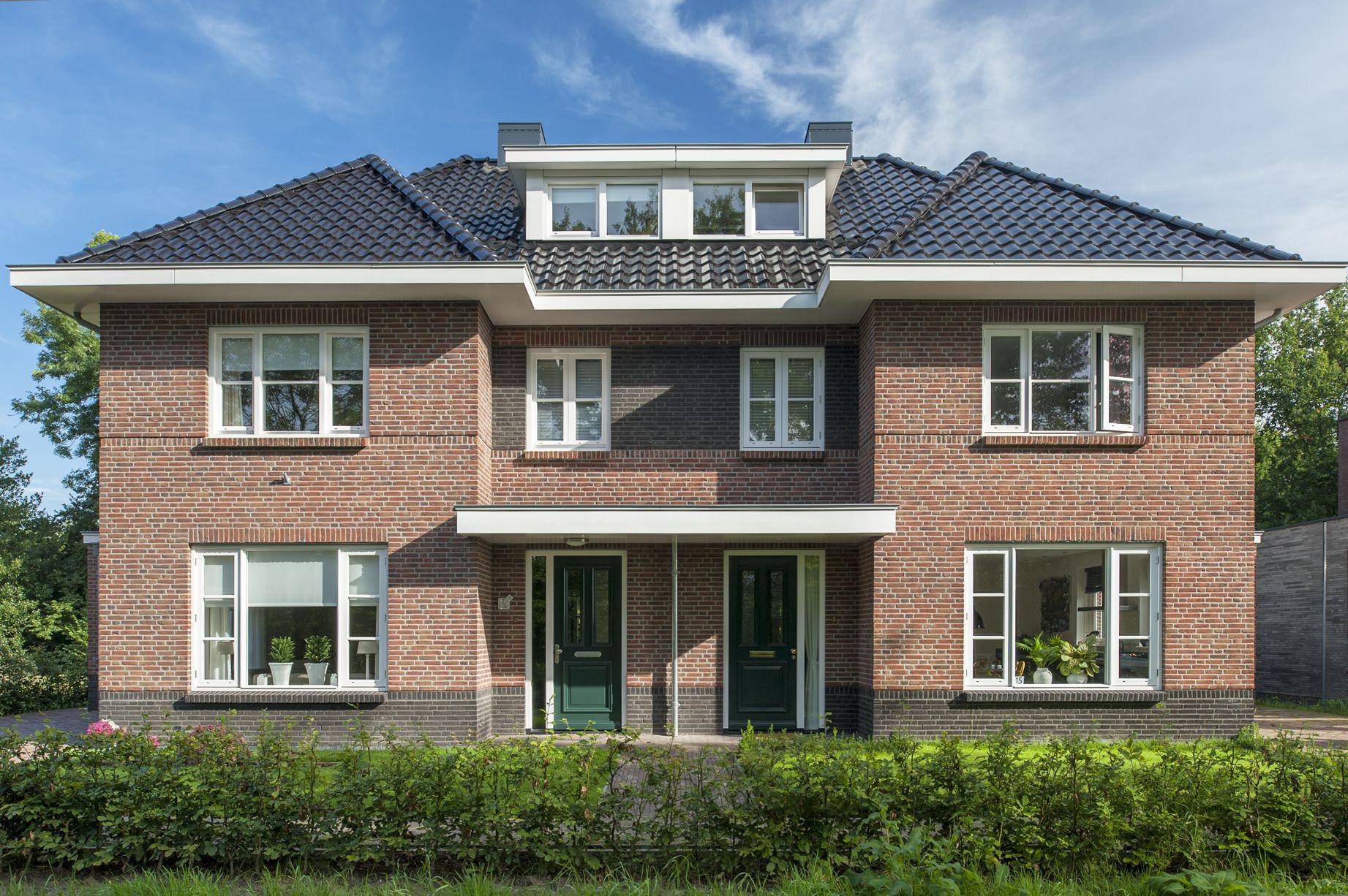 Nieuwbouw dubbele woning in 2019 Nieuwbouw, Huizen en