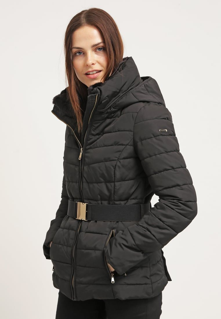 f238cc21c34 ESPRIT Winter Coat - a classic with many different facets Women Jackets  Esprit Collection Winter jacket - black