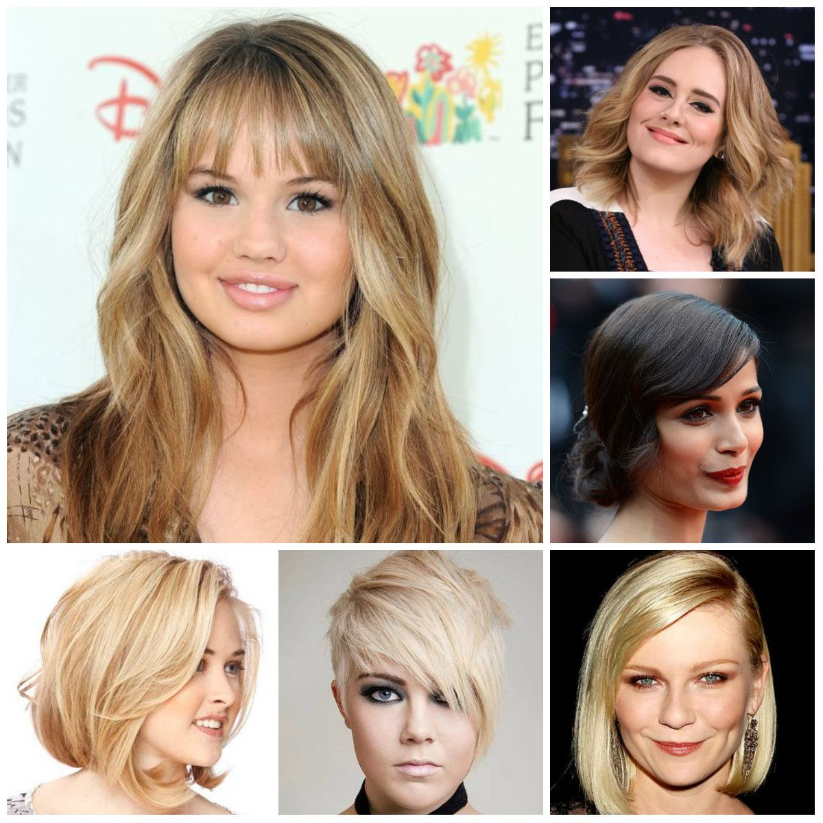 coolest hairstyles for round faces 2016 | haircuts, hairstyles 2016