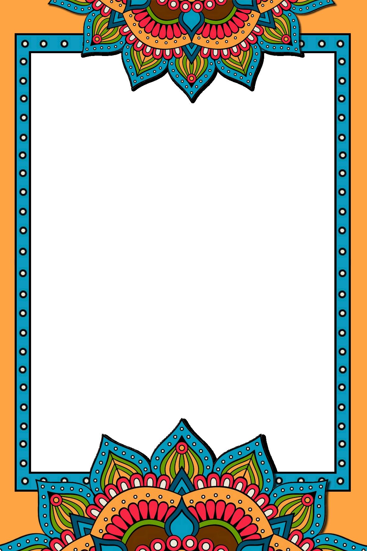 Frame Png 2020 Islami Sanat Cerceve Sanat