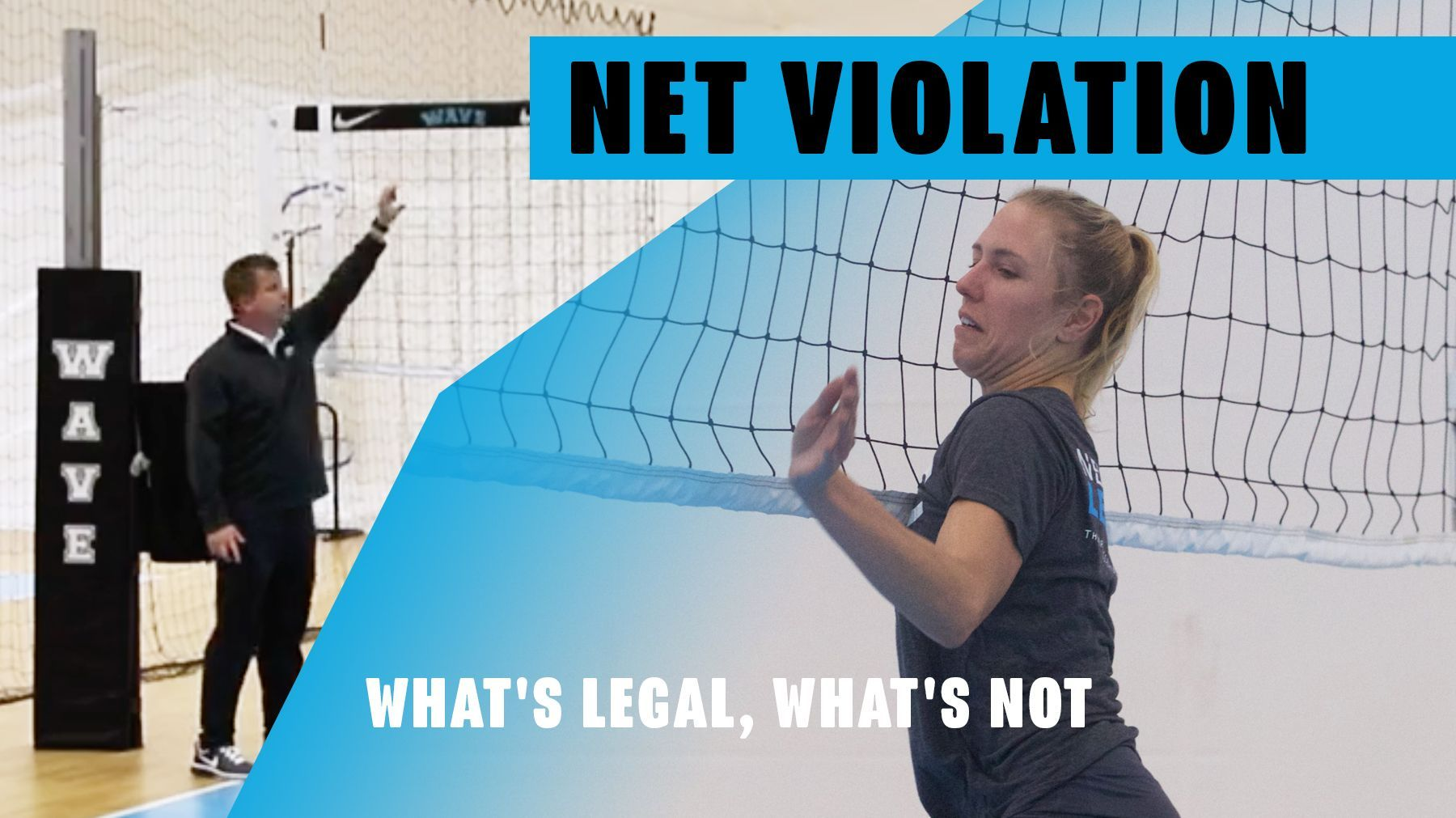 Net Violation What S Legal What S Not Coaching Volleyball How To Play Tennis Tennis Clubs