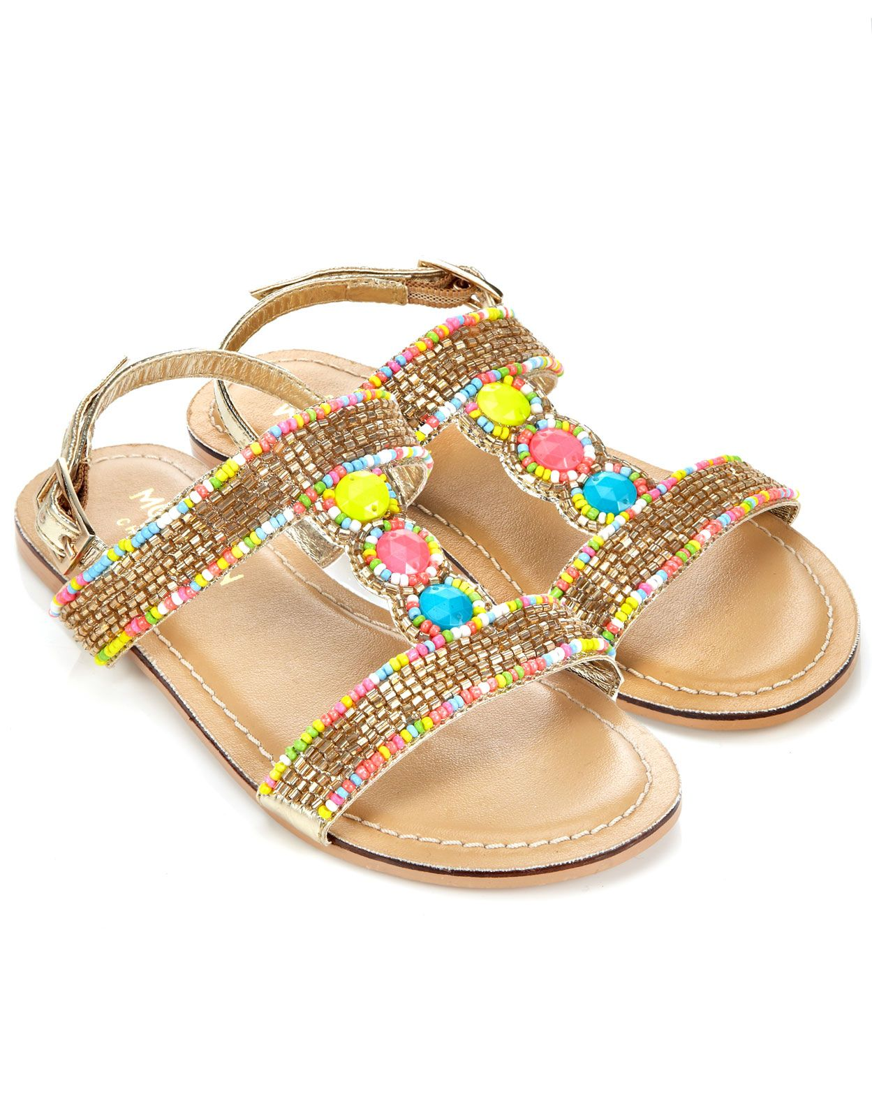 79068ab507524 Bright Beaded Sandal