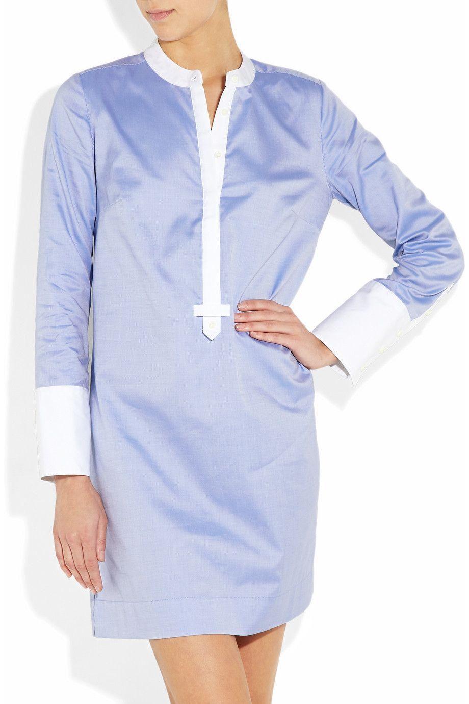 Jcrew shelly cotton shirt dress needs a skinny belt moda