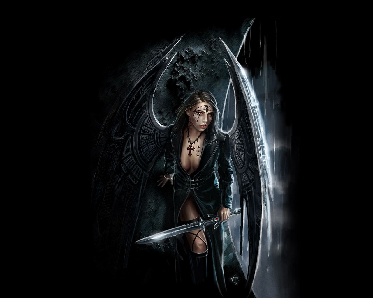 14 best the dark images on pinterest | dark art, dark angels and