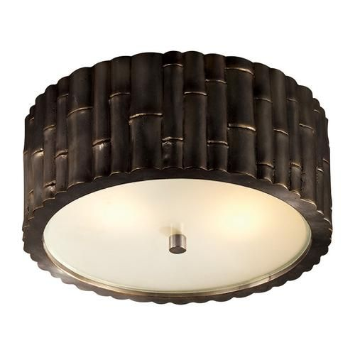 Frank flush mount small gild