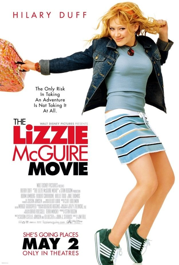 25 Movies That Are Now 10 Years Old Lizzie Mcguire Movie Old Disney Movies Lizzie Mcguire