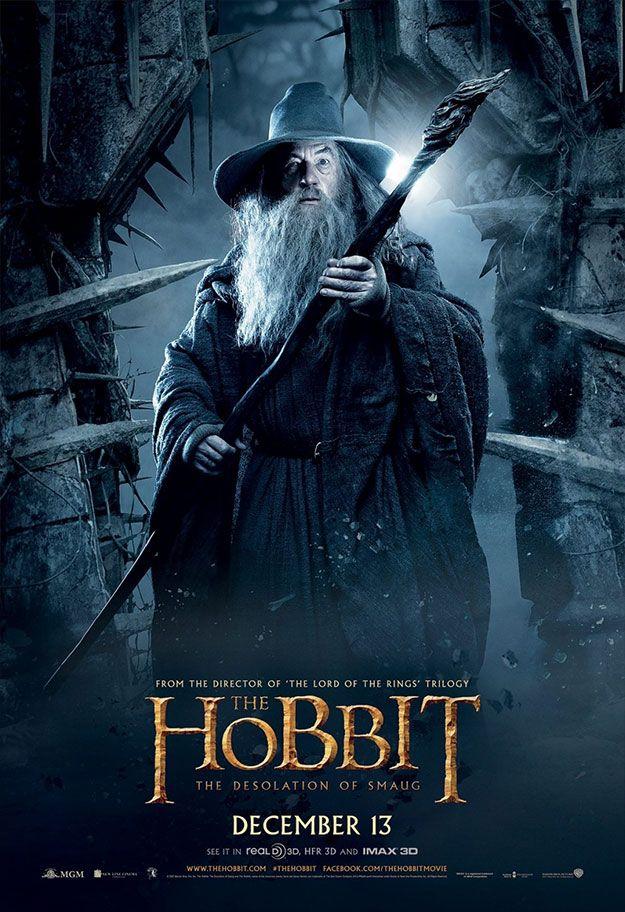 """Nuevos posters de """"El Hobbit: La Desolación de Smaug"""""""