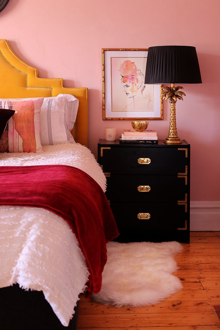 Best How I Ve Styled My Blush Pink Master Bedroom For Now 400 x 300