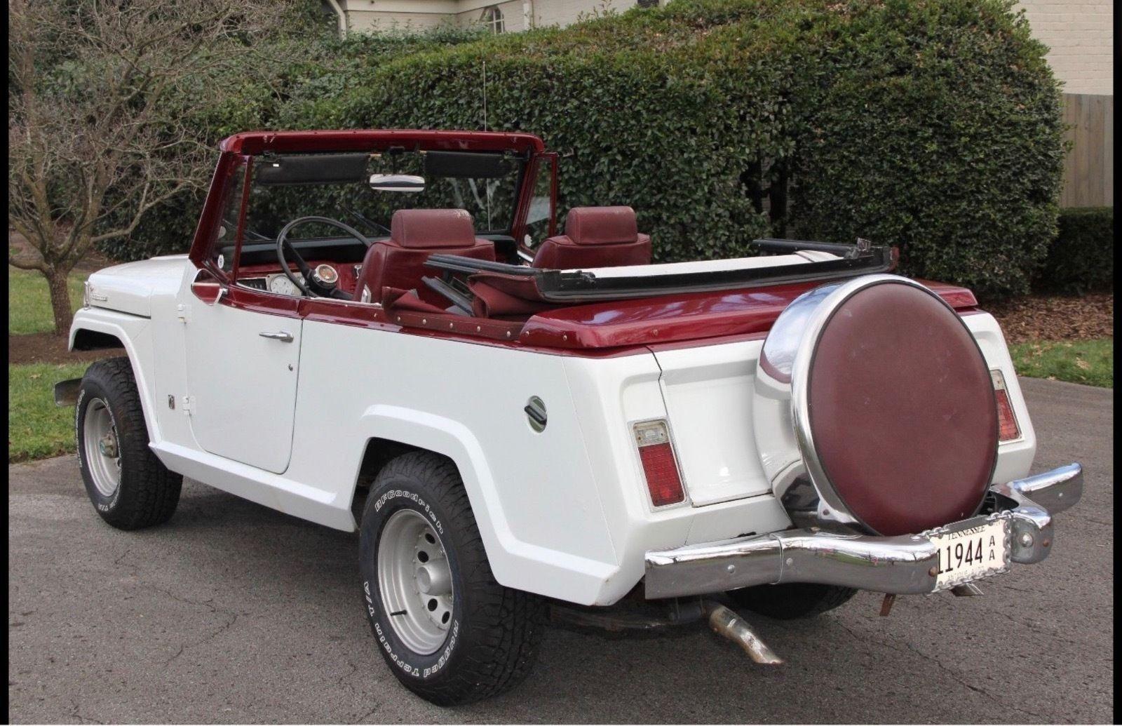 Ebay 1967 Jeep Commando Continental Kit Rare 1967 Jeepster