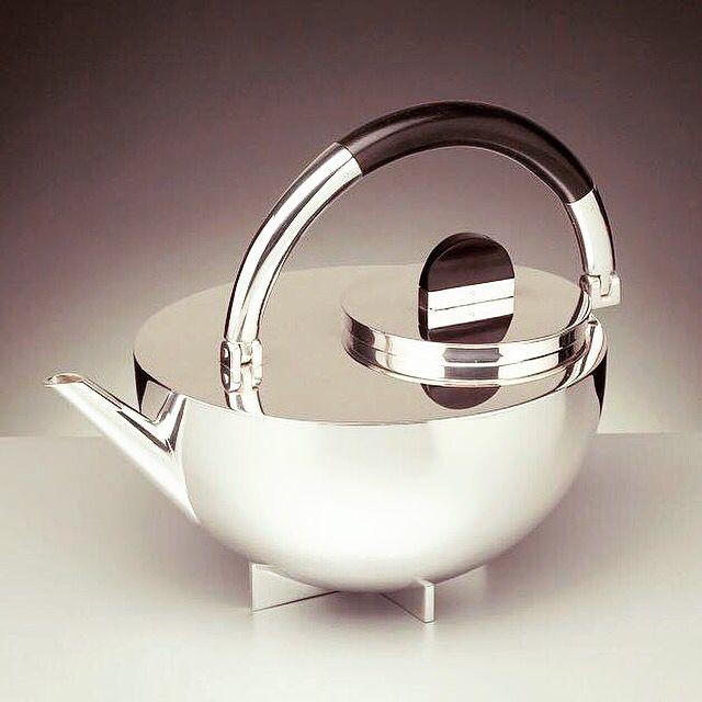 NEXTBAUHAUS TEATIME BRANDT BAUHAUS Teapot 1924 by