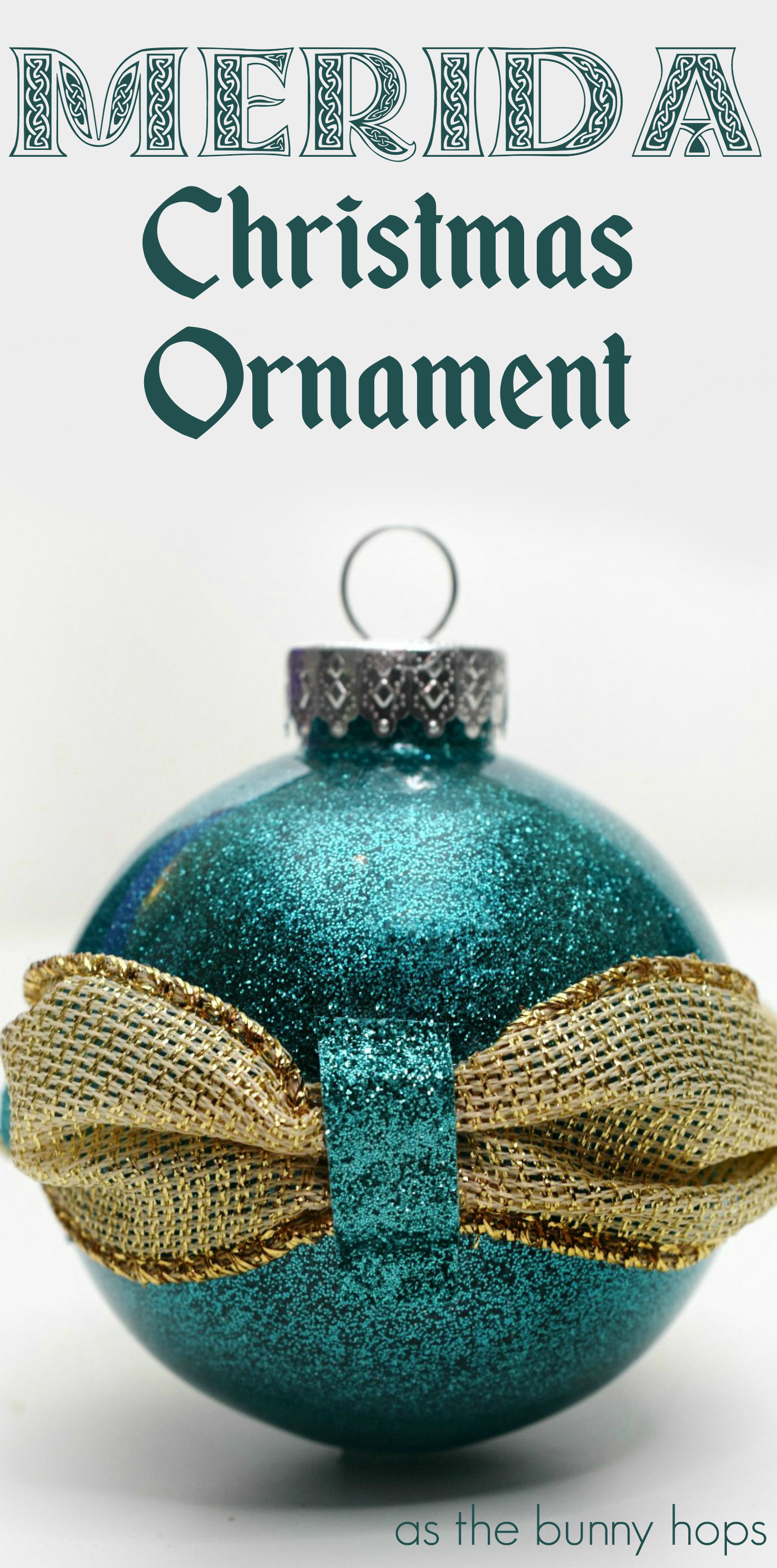Personalized Christmas Ornament Personalized Disney Ornament Kids Ornament Merida Christmas Ornament Disney Christmas Ornament