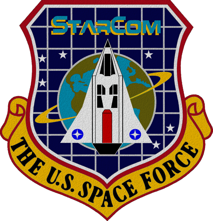 The US Space Force Shield by viperaviator on