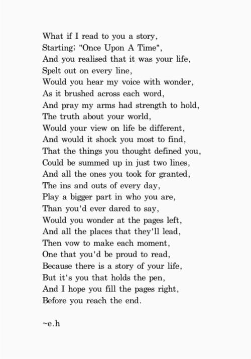 how do you write a good poem
