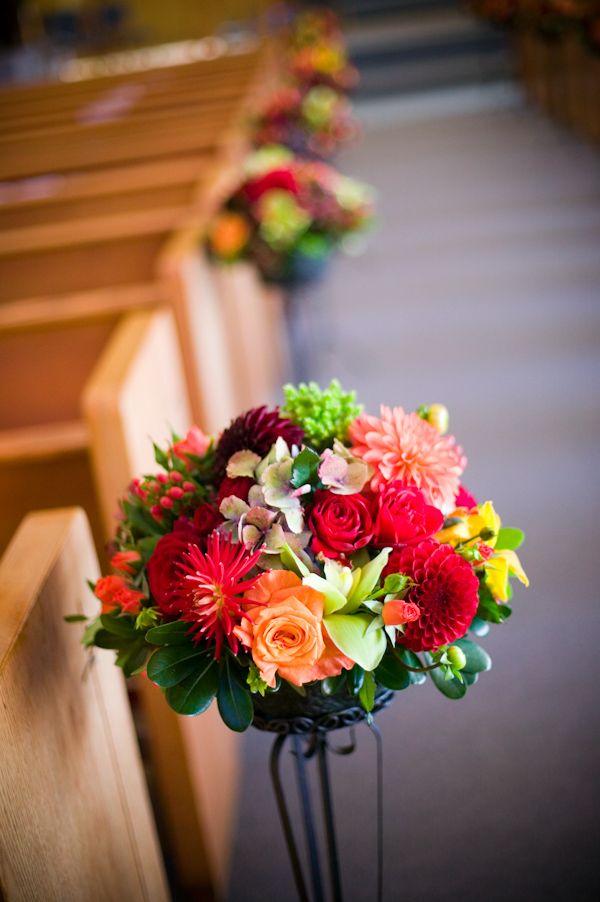ceremony floral detail - wedding photo by J Garner Photographer,