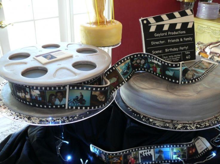 Sarahs Film Cake Graduation Cakes Pinterest Cake Films And - Movie themed birthday cake