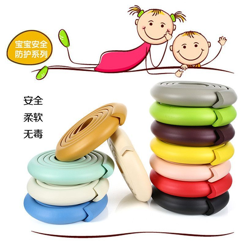 Anti Crash Protector With Tape Hot Baby Safety Desk Table Protective Strip For Kids