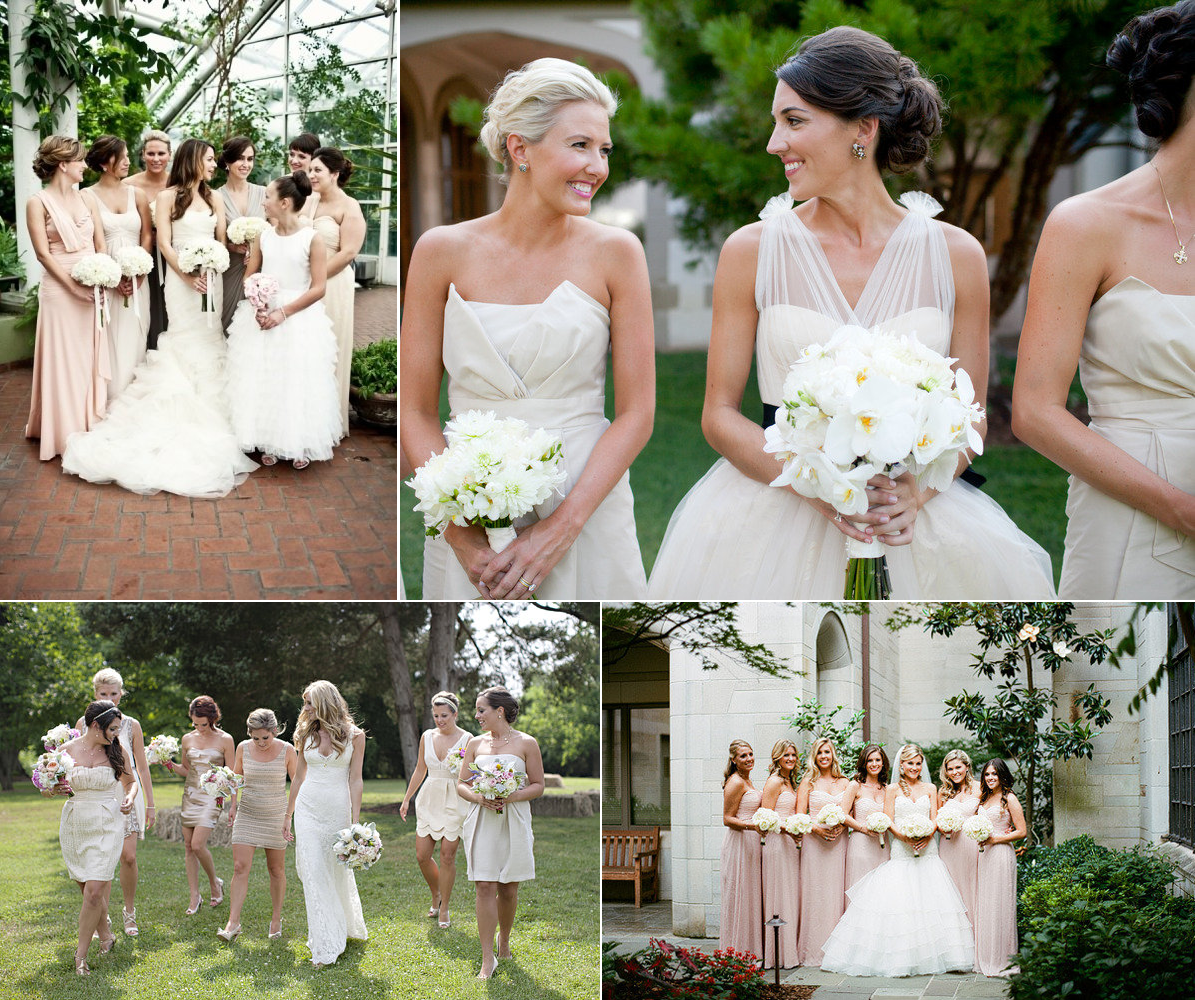 Wedding Taupe Bridesmaid Dresses google image result for httpwedding pictures 01 onewed com com26995neutral bridesmaids dresses mix and match blush taupe champagne p