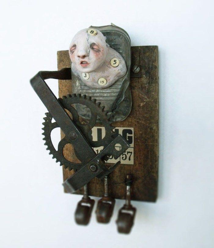 Van Dall, artiste-sculptrice