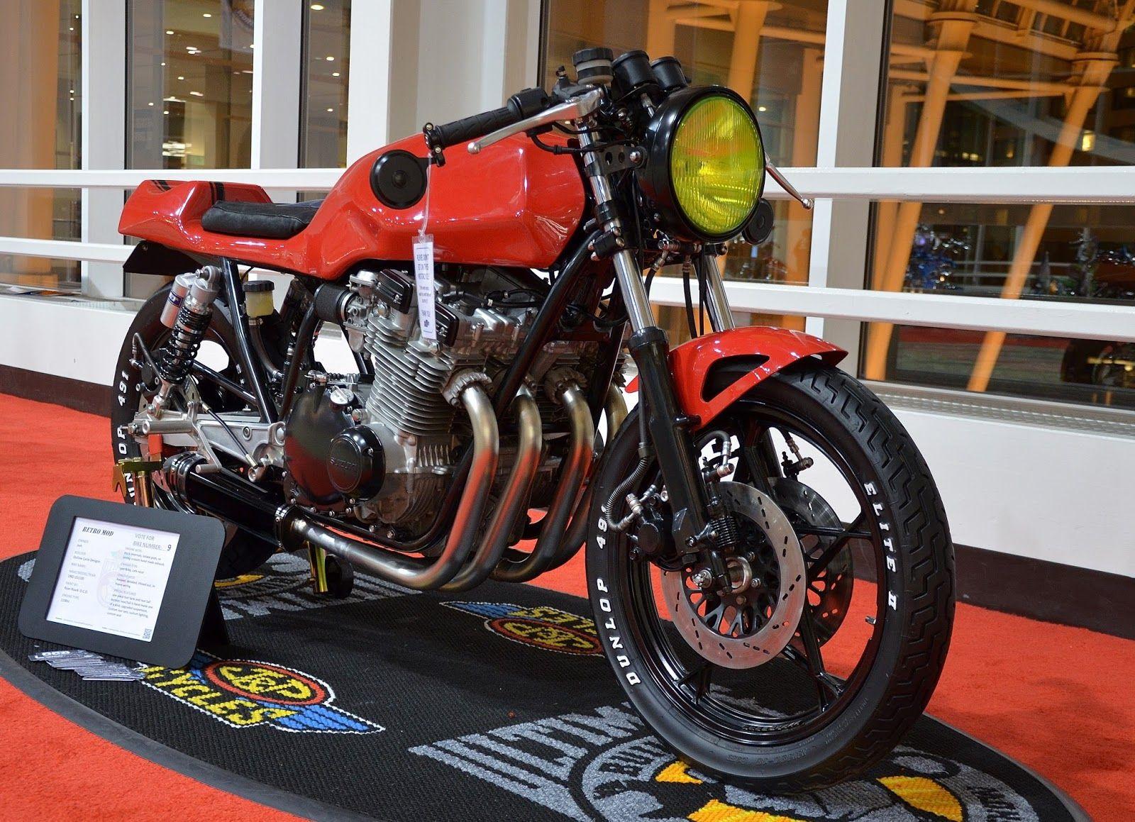 International Motorcycle Show Seattle Washington Suzuki Cafe