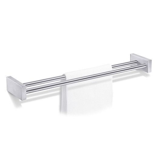 Zack Bathroom Fixtures zack bathroom accessories wall mounted double towel bar