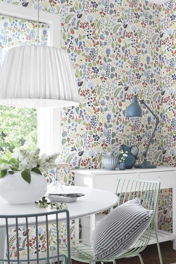 Decorar paredes con papel pintado Wallpaper, Interiors and House