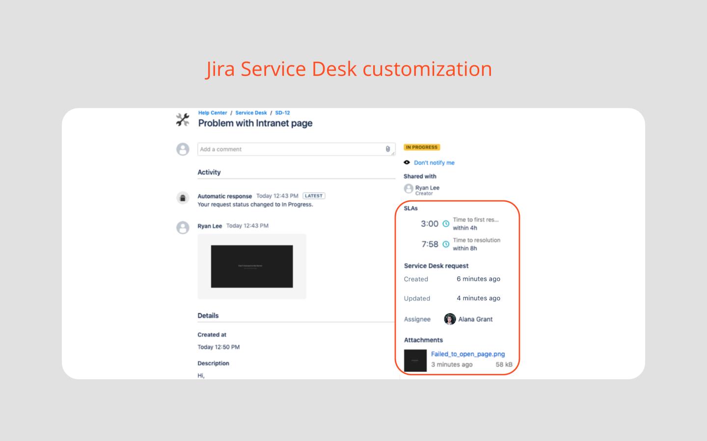 Extension For Jira Service Desk Atlassian Marketplace News Apps Service Self Assessment
