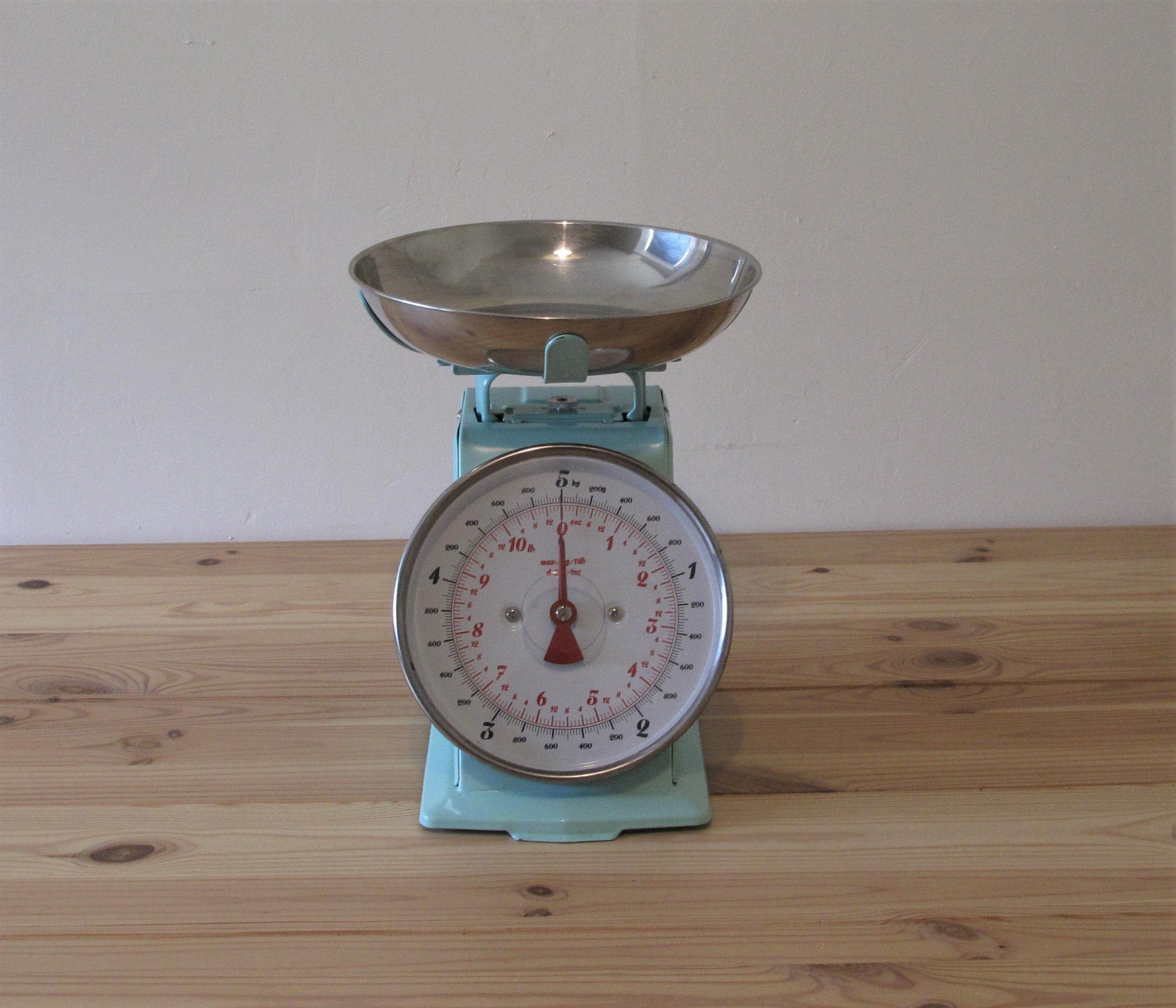 Vintage Kitchen Scales Old Weighing Scales Retro Boho  Etsy