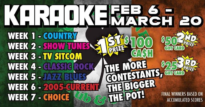 In the mood for some karaoke here you go head on out