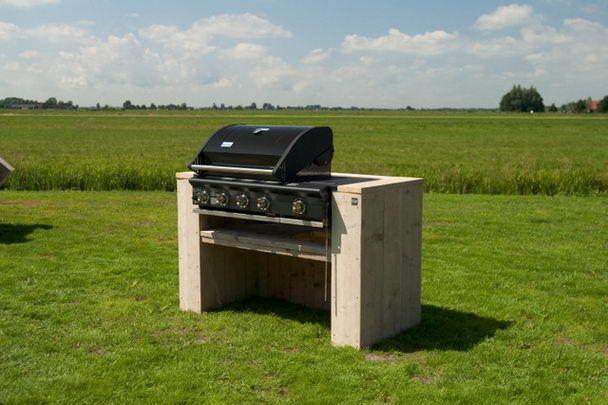 Sommerküche Module : Bbq module 4 burner bauholz gartenmöbel garten möbel produkte