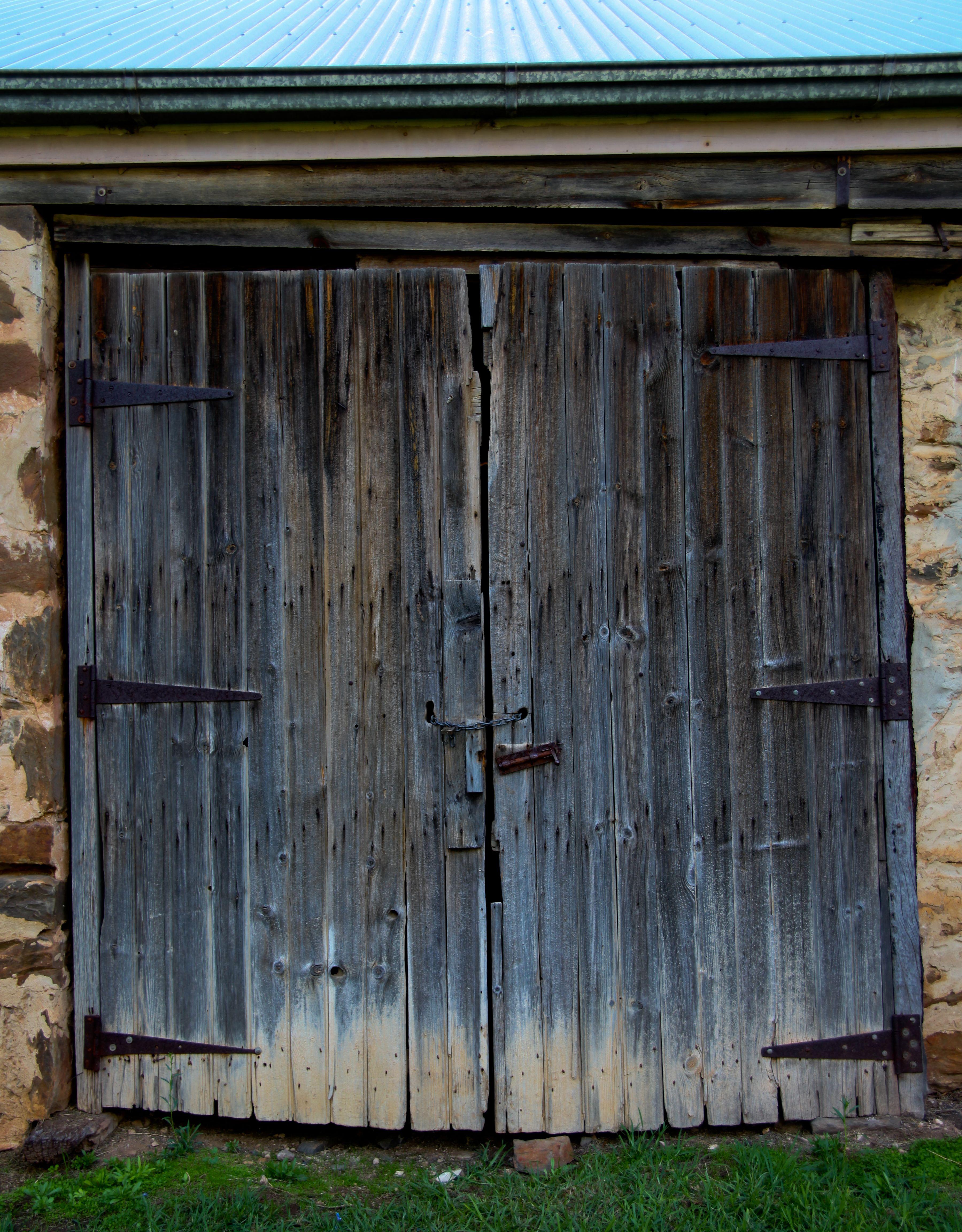 The Old Barn Doors At Glenbarr Homestead Strathalbyn Copyright Phd