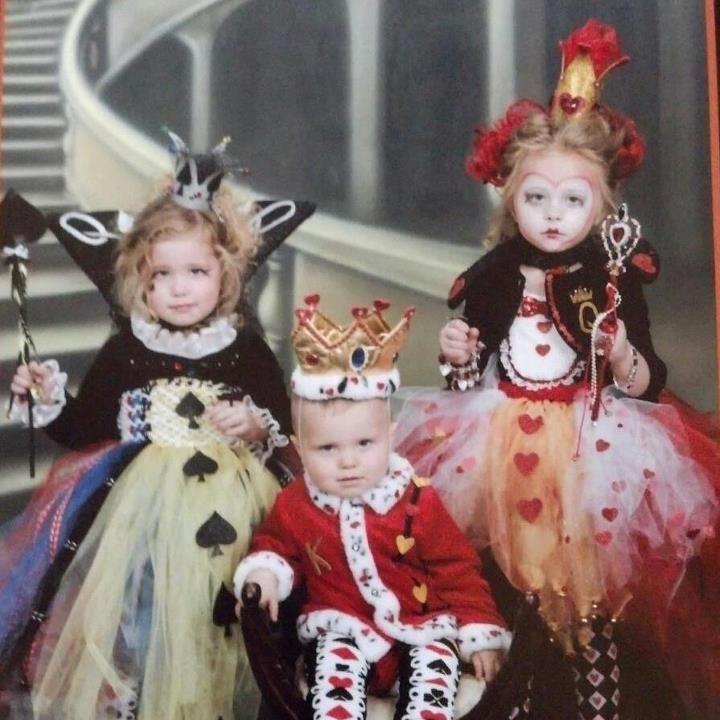 Queen of Spades, King of Hearts, Queen of Hearts Halloween Costume