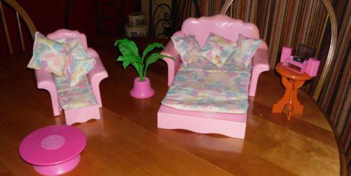 My Barbie living room furniture @Rachel Spradling