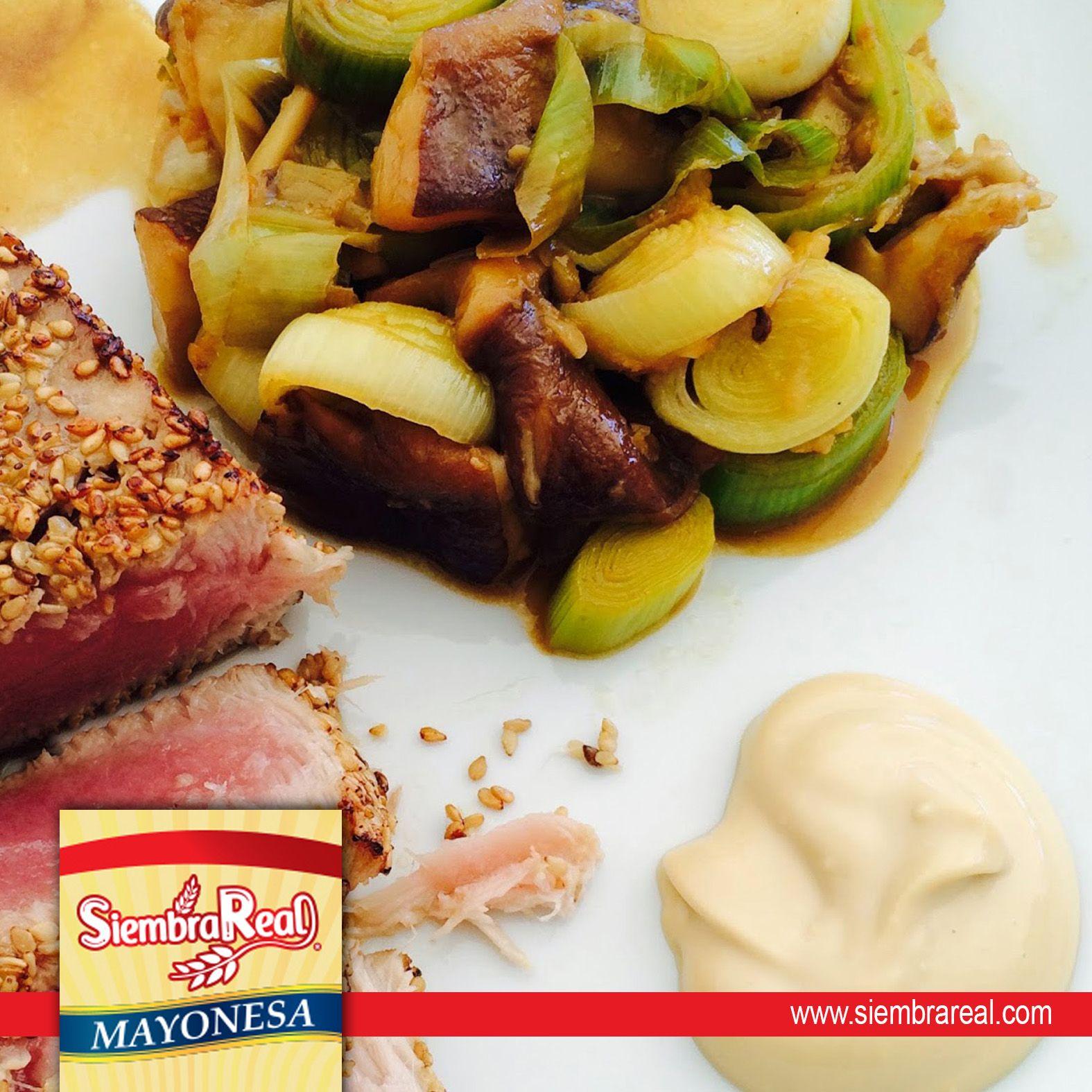 Disfruta el delicioso sabor de Mayonesa Siembra Real, acompaña todas nuestras comidas con su sabor y cremosidad. Que no falte en tu mesa Mayonesa #SiembraReal