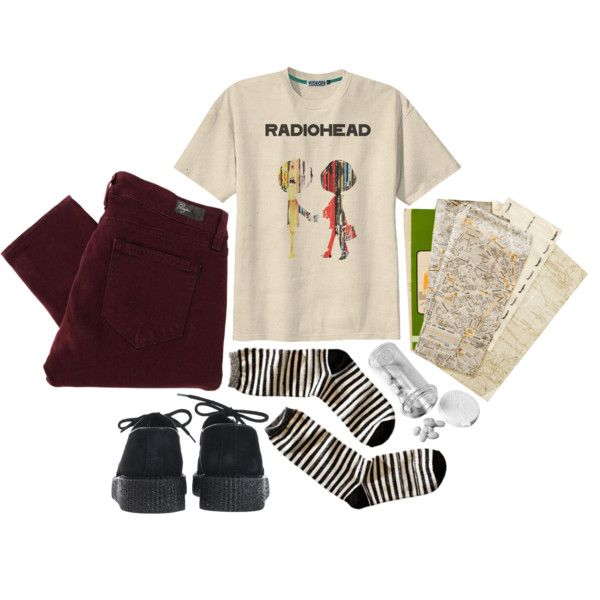 """""""radiohead"""" by s-b-t-r-k-t on Polyvore"""