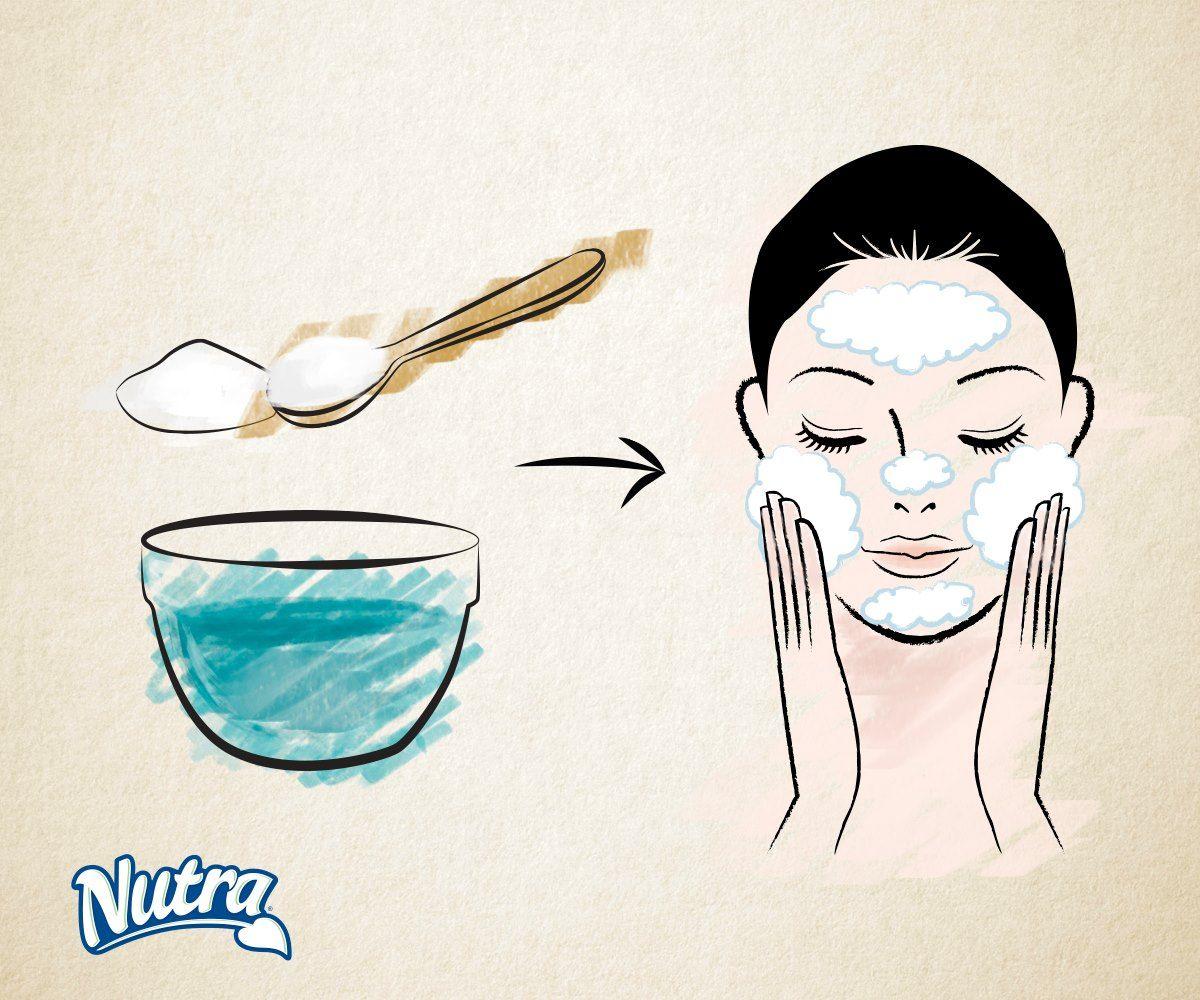¿Necesitas un exfoliante natural? Mezcla 3 partes de bicarbonato de sodio con una parte de agua. Aplica en tu cuerpo con movimientos circulares y luego enjuaga.
