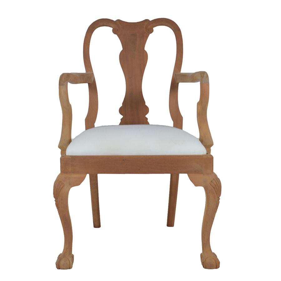 Queen Anne Dining Chair with Ball & Claw Foot. Available in any ...