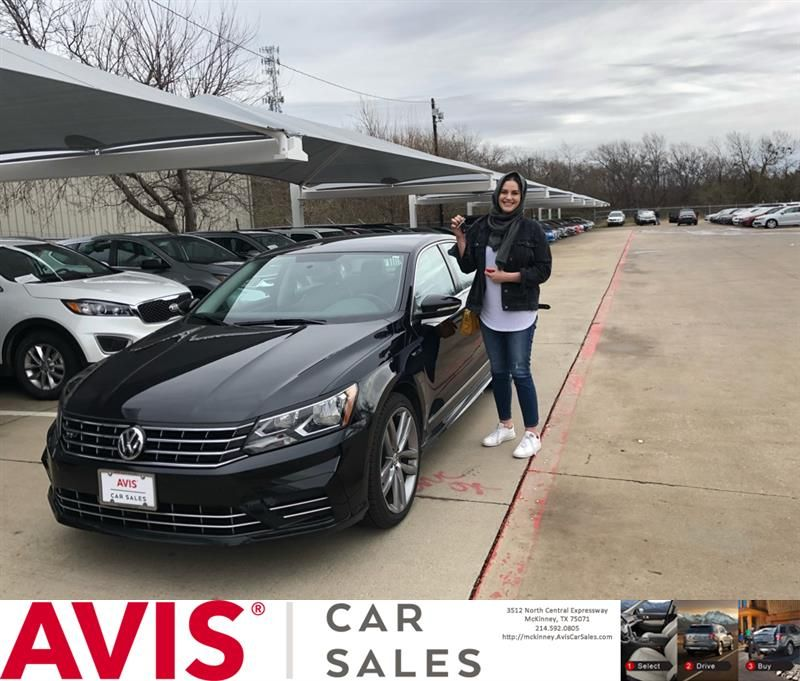 Avis Cars For Congratulations Sarah On Your Volkswagen Pat From Justin Wall