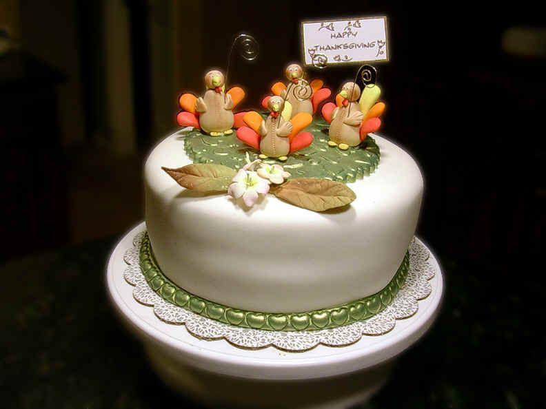 Resultado de imagen para pastel accion de gracias