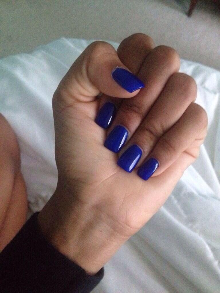 Royal Blue Acrylic Nails Square Acrylic Nails Blue Acrylic Nails Short Square Acrylic Nails