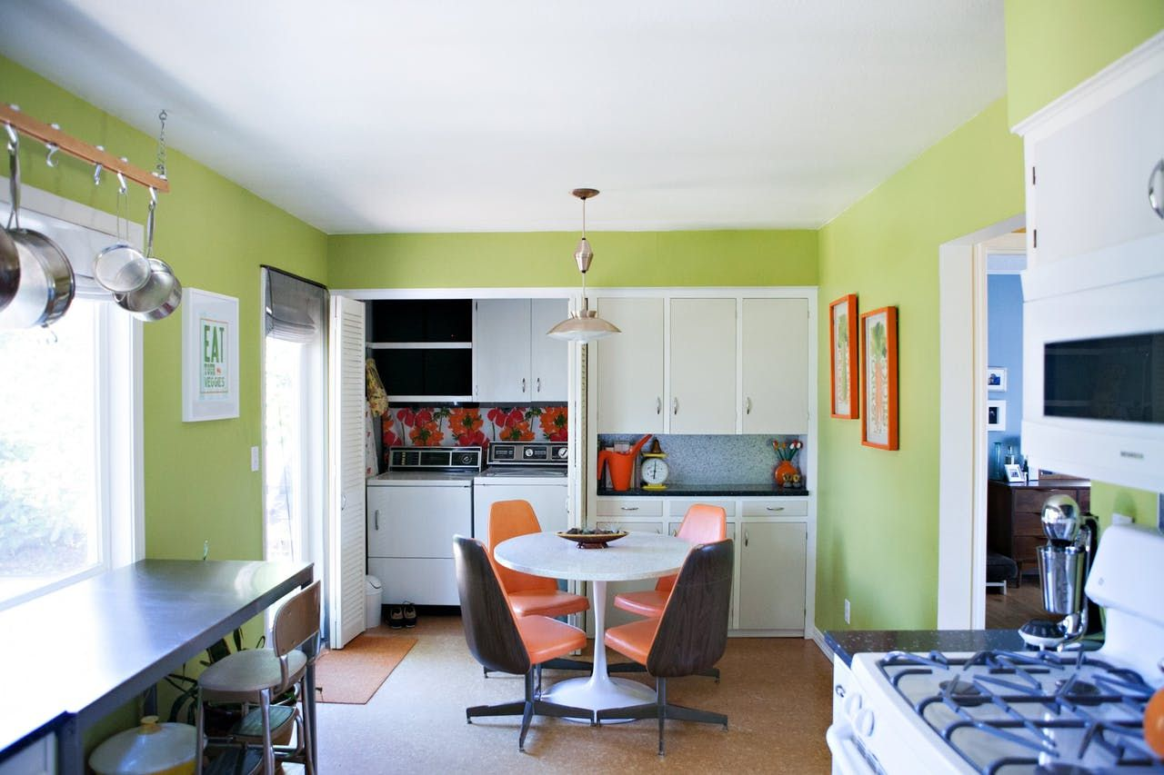House tour a colorful midcentury house in portland in mid