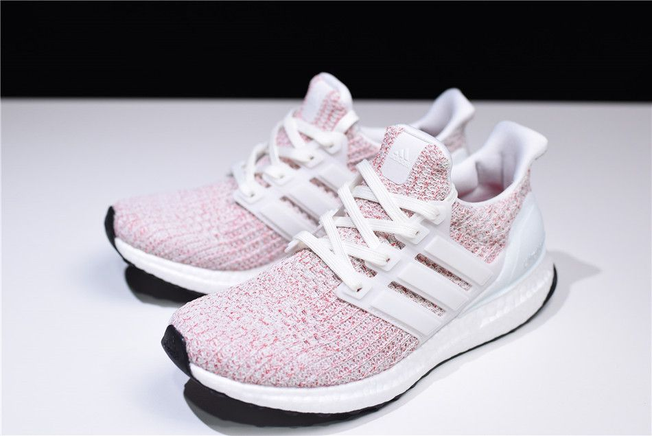 "finest selection ccdf7 5c1d4 New adidas Ultra Boost 4.0 ""Candy Cane"" WhiteScarlet Red BB6169"