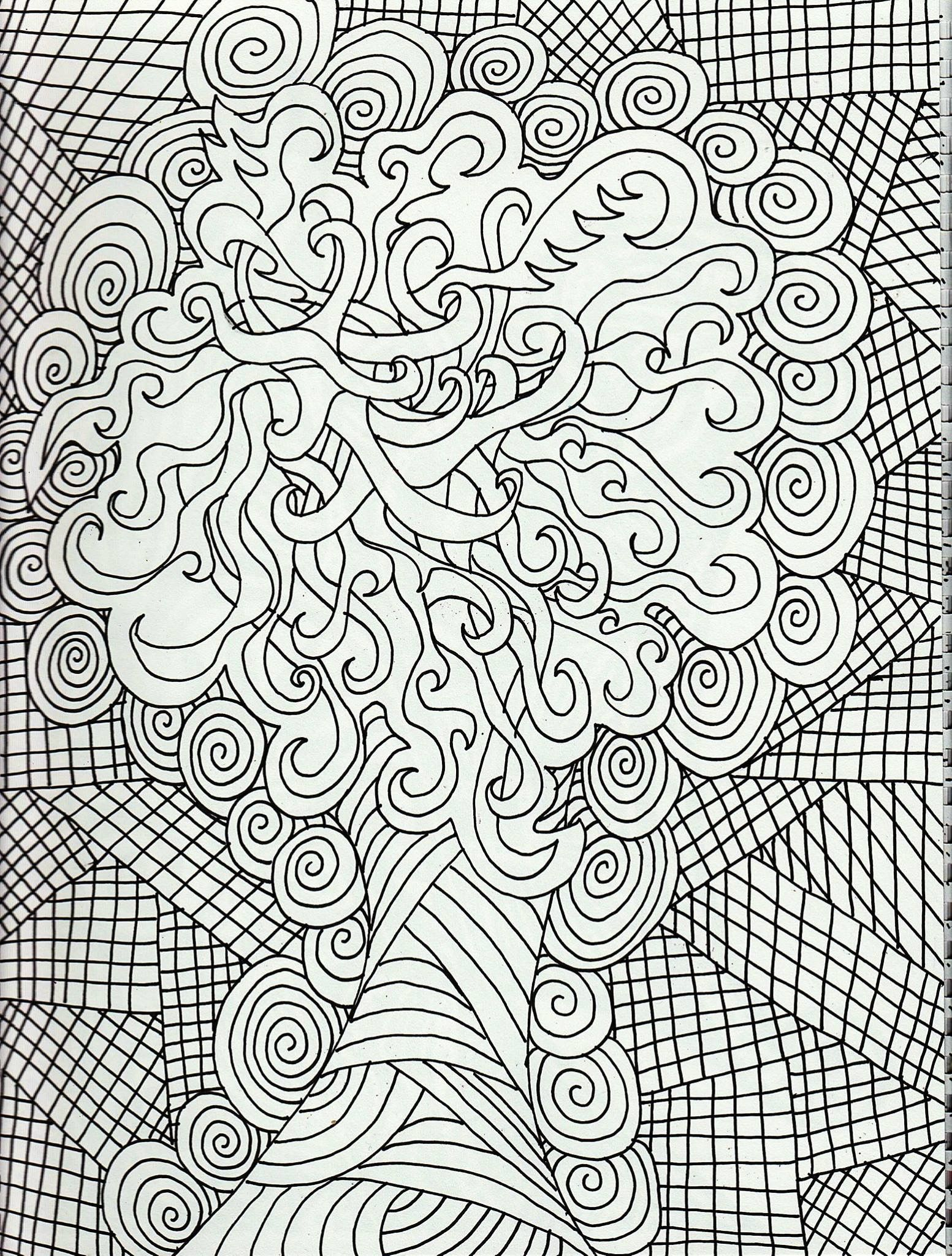 Free coloring pages complex - Explore Free Adult Coloring Pages And More