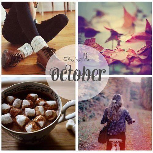Hello October 3 Hallo Oktober Jahreszeiten Oktober