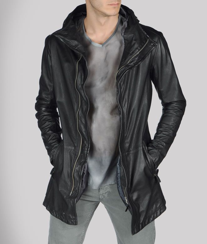 Emporio Armani Leather in Black Jacket Fashion Style - Fashion Style  Wallpaper ae86b4b85f3
