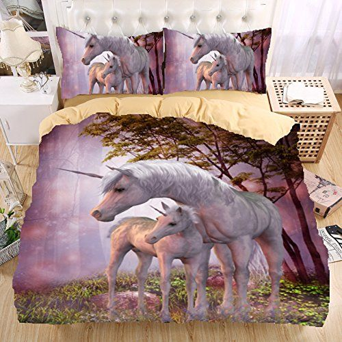 ~ Saddle Club 3 HORSE DOUBLE DOONA QUILT DUVET COVER US Twin *Last One*